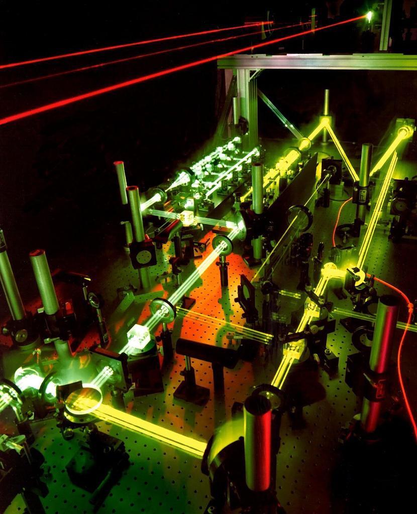 Laboratorio laser ricerca fisica
